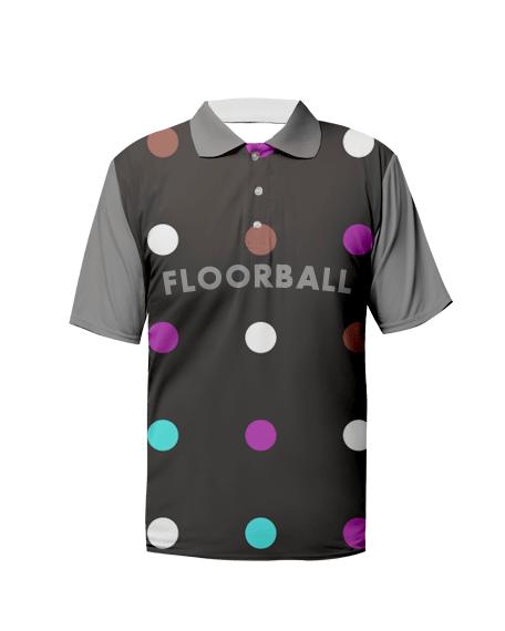 Sublimation Polo Tee (Floorball) Men