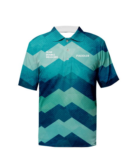 Sublimation Polo Tee (Dragonboat) Unisex Image