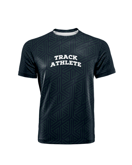 Sublimation Round Neck Tee (Track and Field) Men