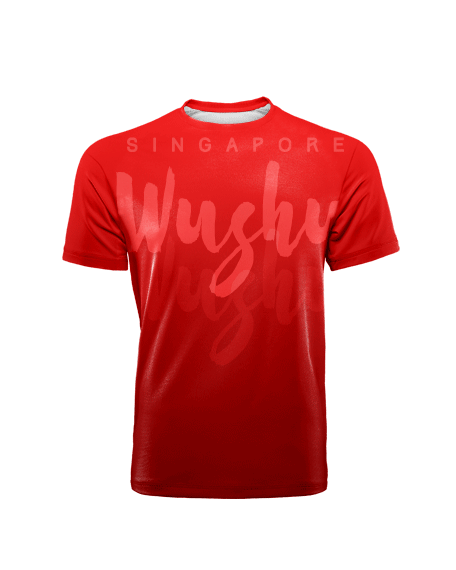 Sublimation Round Neck Tee (Wushu) Men