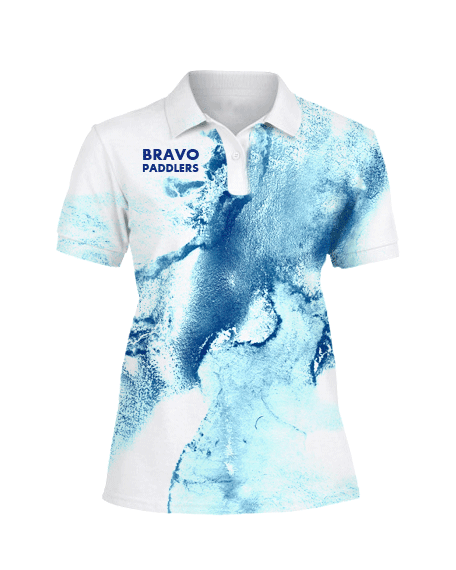 Sublimation Polo Tee (Dragonboat) Women