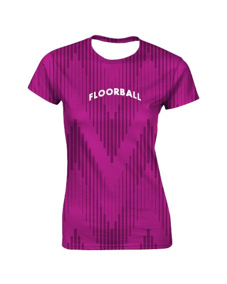 Sublimation Round Neck Tee (Floorball) Women