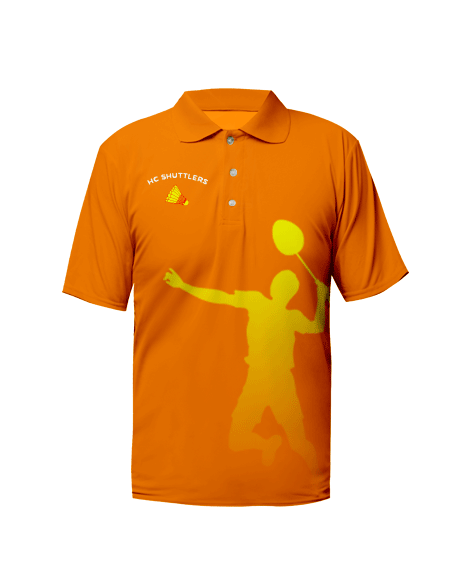 Sublimation Polo Tee (Badminton) Men
