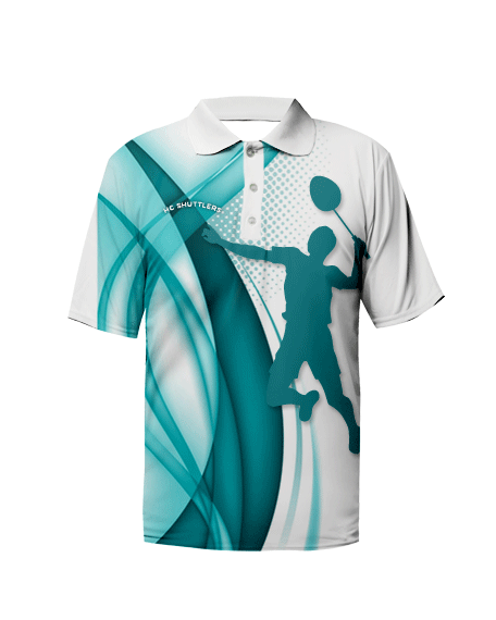 Sublimation Polo Tee (Badminton) Unisex Image