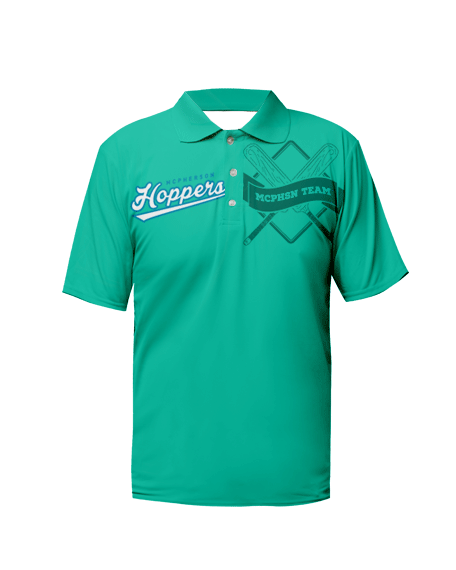 Sublimation Polo Tee (Cricket) Men