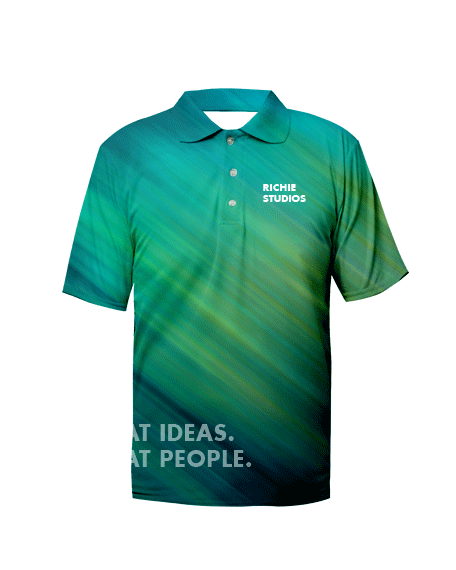 Sublimation Polo Tee (Corporate) Men