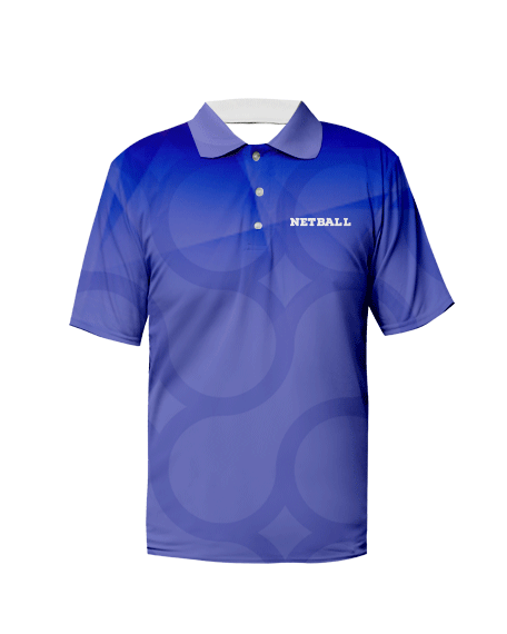 Sublimation Polo Tee (Netball) Men