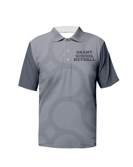 Sublimation Polo Tee (Netball) Unisex Image