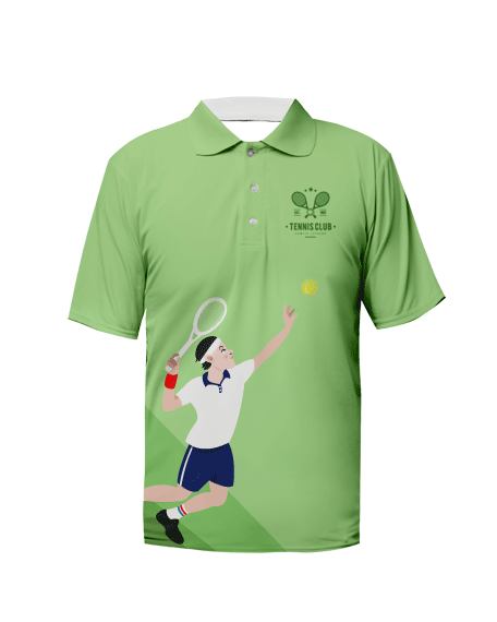 Sublimation Polo Tee (Tennis) Men