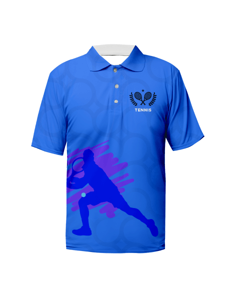 Sublimation Polo Tee (Tennis) Unisex Image