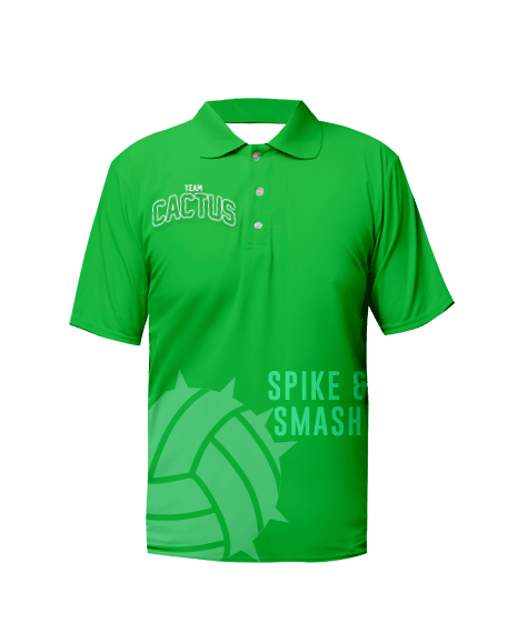 Sublimation Polo Tee (Volleyball) Men