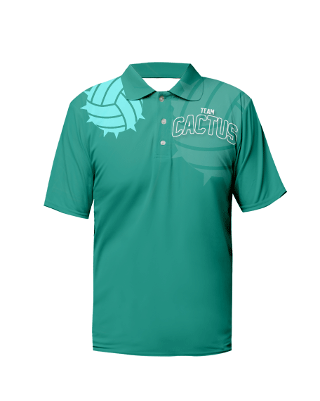 Sublimation Polo Tee (Volleyball) Unisex Image