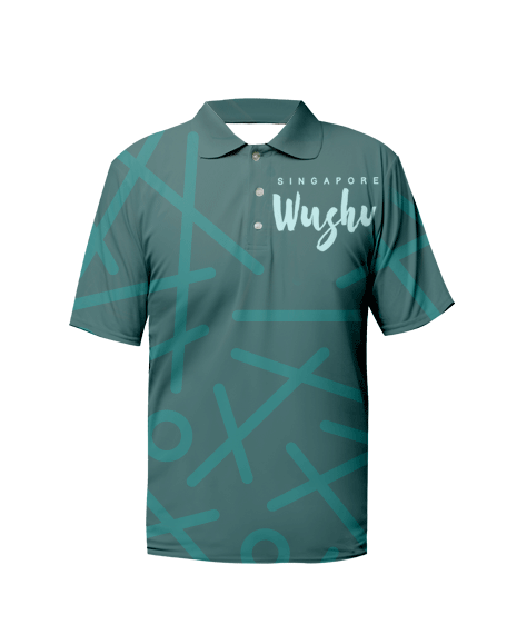 Sublimation Polo Tee (Wushu) Men