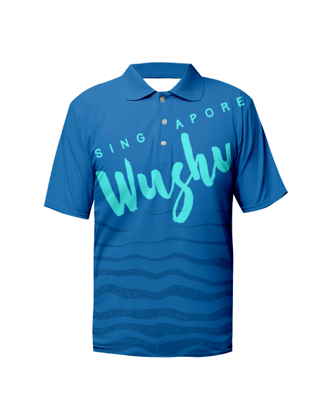 Sublimation Polo Tee (Wushu) Unisex Image