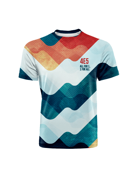 Sublimation Round Neck Tees (Class Tees) Image