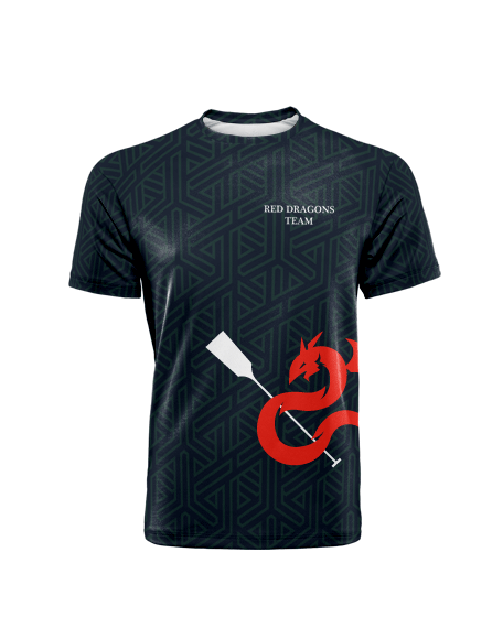 Sublimation Round Neck Tee (Dragonboat) Men