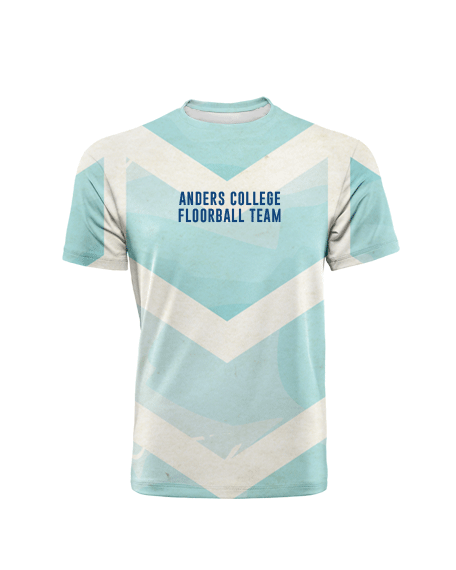 Sublimation Round Neck Tee (Floorball) Men