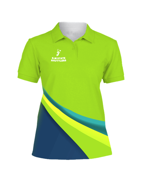 Sublimation Polo Tee (Badminton) Women