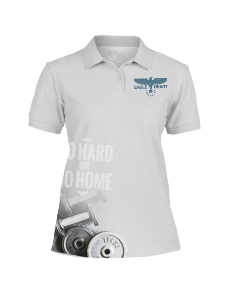 Sublimation Polo Tee (Crossfit) Women