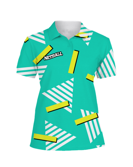 Sublimation Polo Tee (Netball) Women
