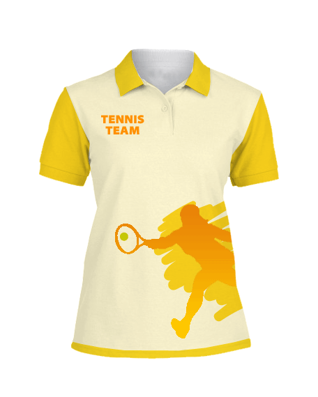 Sublimation Polo Tee (Tennis) Women