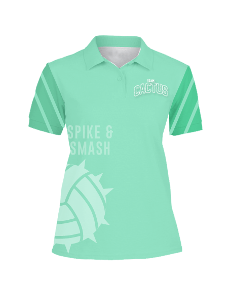 Sublimation Polo Tee (Volleyball) Women