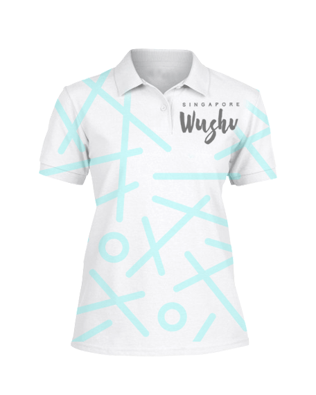 Sublimation Polo Tee (Wushu) Women