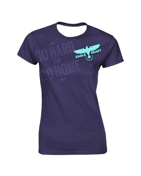 Sublimation Round Neck Tee (Crossfit) Women