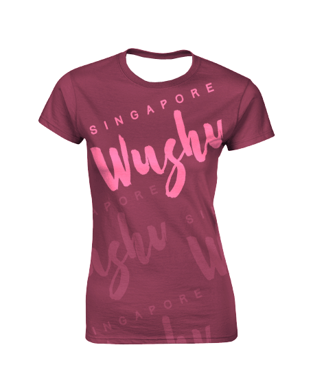 Sublimation Round Neck Tee (Wushu) Women