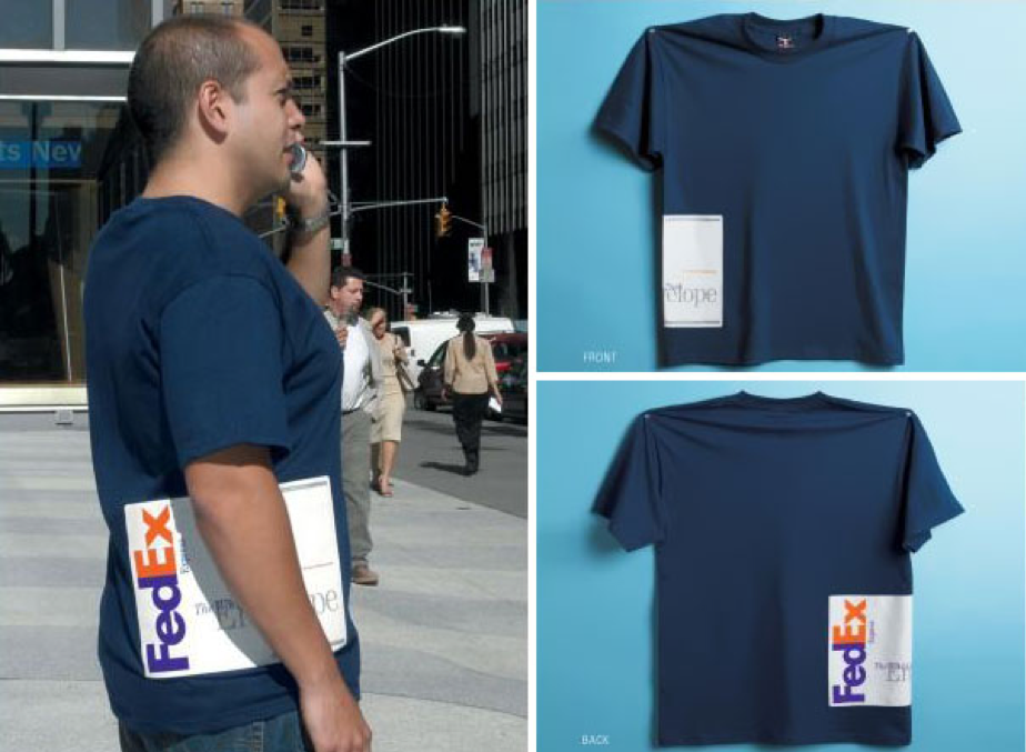 creative custom T shirts for FedEx
