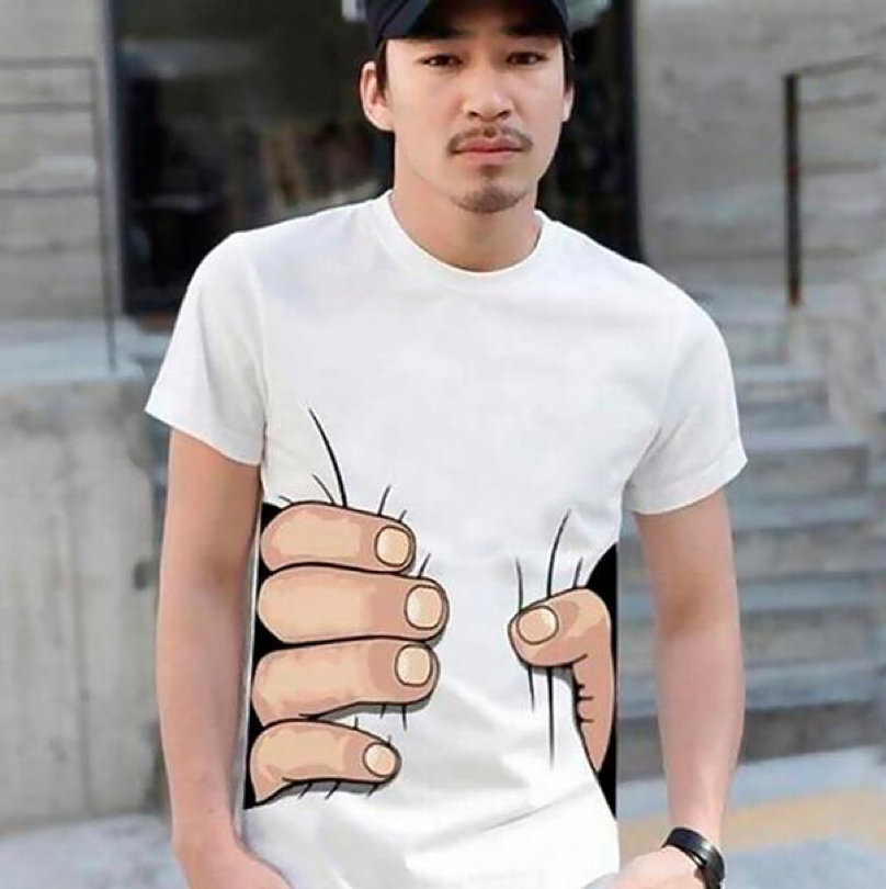 one example of funny custom T-shirts