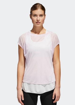 Adidas white shirt women image 4