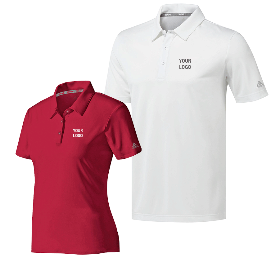 Red and White Adidas Singapore custom t shirts image 3
