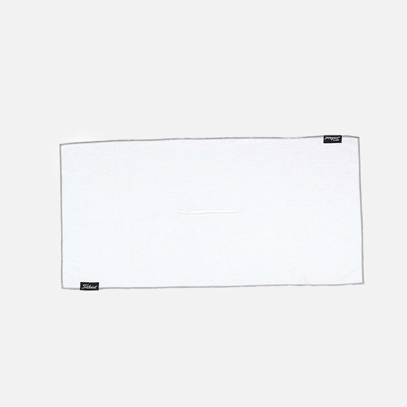 Titleist-Players-Microfiber-Towel-White