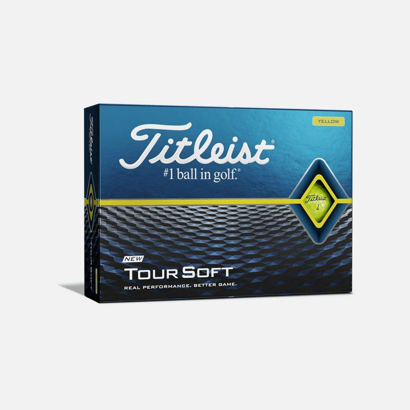 Titleist-Tour-Soft-Golf-Balls-Dozen-Yellow