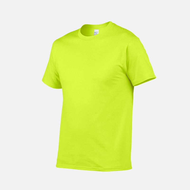 gildan-tee-round-neck-tshirt-76000-safety-green-188C