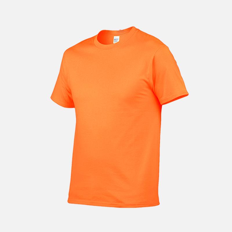gildan-tee-round-neck-tshirt-76000-safety-orange-193C