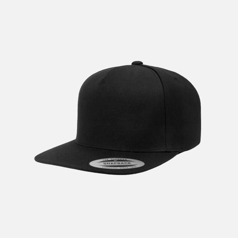 yupoong-flexfit-5089M-Black-F-cap