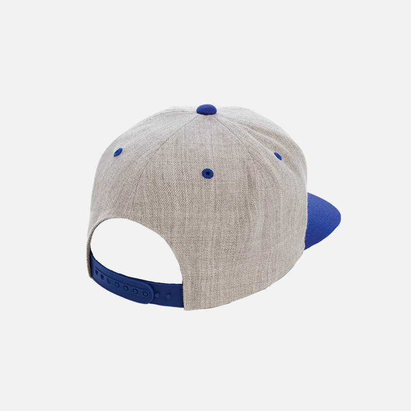 yupoong-flexfit-6089MT-heather-royal-cap-b