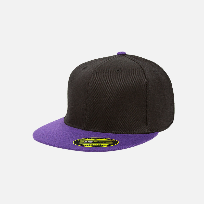 yupoong-flexfit-6210T-black-purple-f