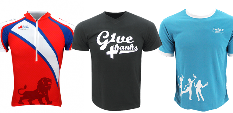 Custom T shirt Printing Singapore - Ark Industries