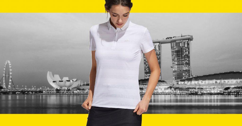 adidas Singapore Ark Industries polo tees distributor