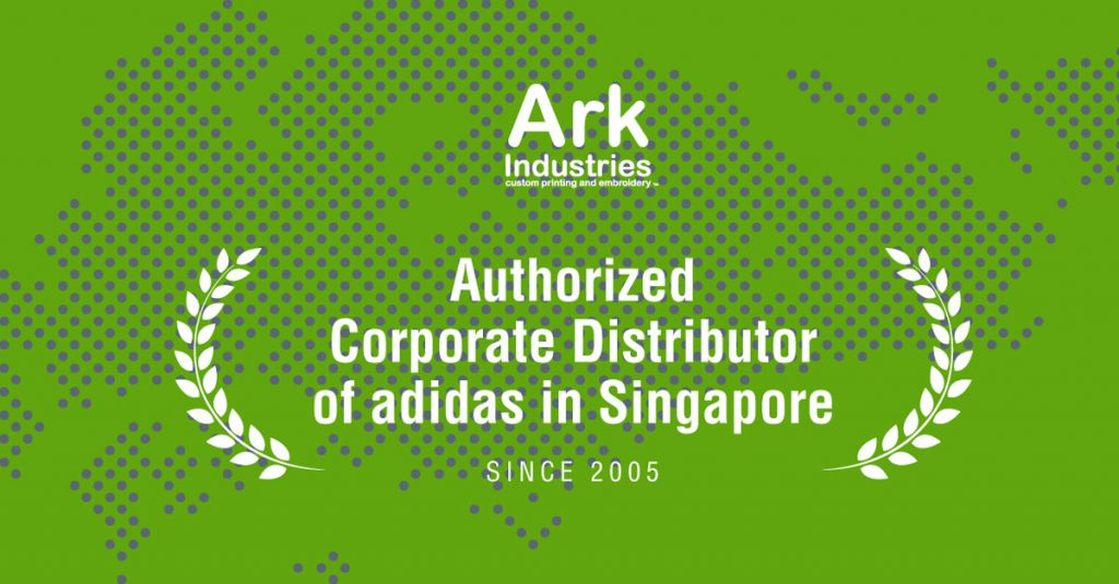 ark industries corporate distributor in singapore adidas and under armour apparel polo tees