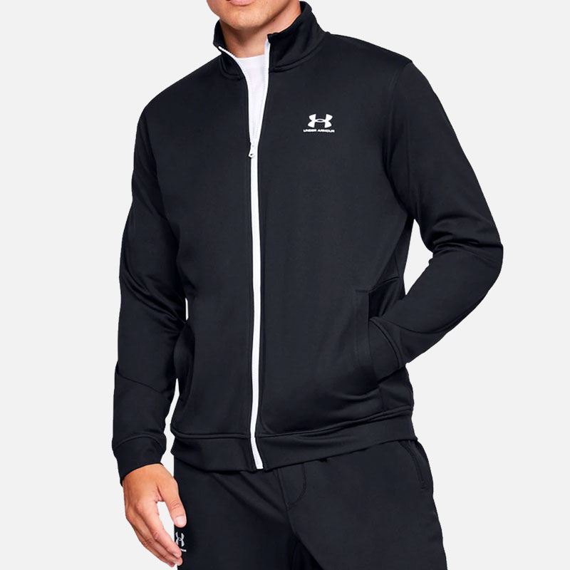 under-armour-sportstyle-tricot-jacket-black-f