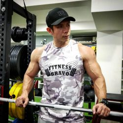 FitnessBravo_Singlet_Sublimation_Printing